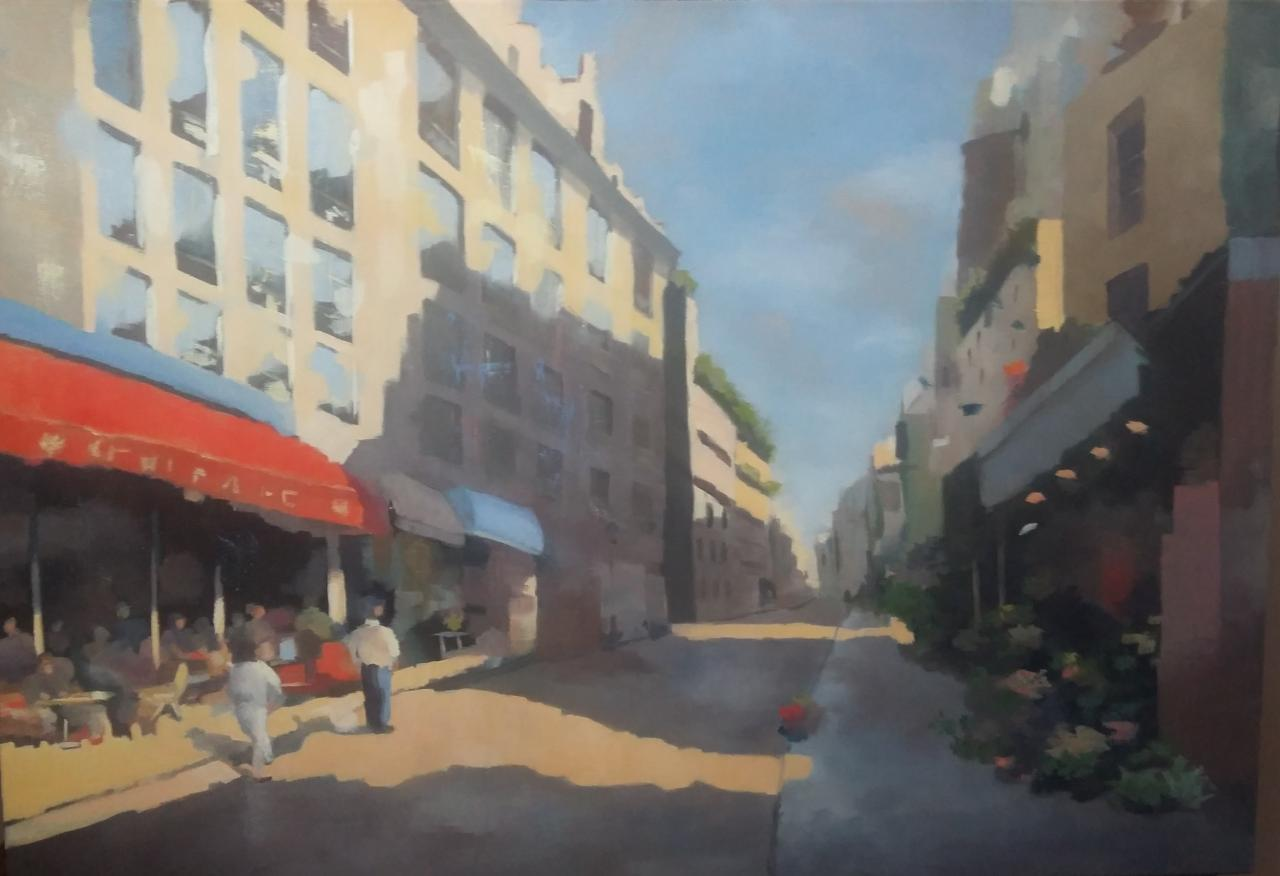Paris au soleil (81x116 cm)