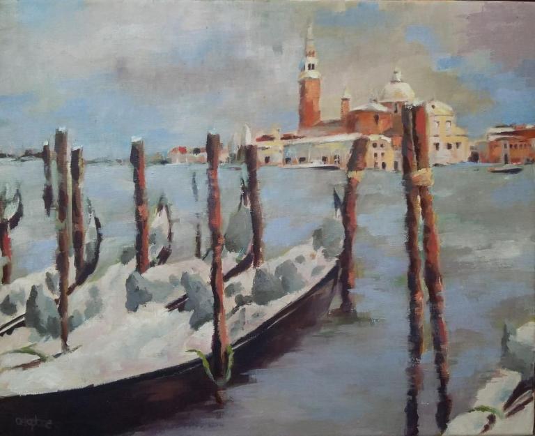 Venise San Giorgio Maggiore (41x33 cm)