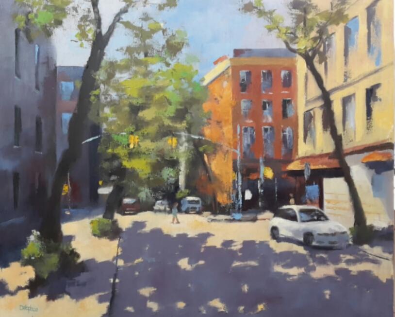 New York n° 4- 73x60 cm